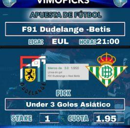 F91 Dudelange – Betis