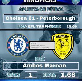 Chelsea 21 – Peterborough