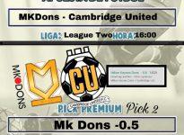 Mk Dons - Cambridge