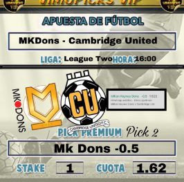 Mk Dons – Cambridge