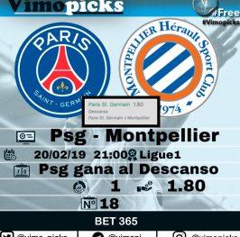 Psg – Montpellier