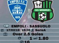 Empoli - Sassuolo