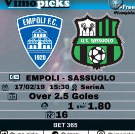 Empoli – Sassuolo