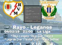 Rayo - Leganés