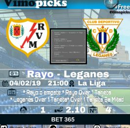 Rayo – Leganés