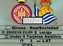 Girona - RealSociedad