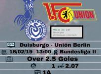 Duisburgo - Unión Berlin
