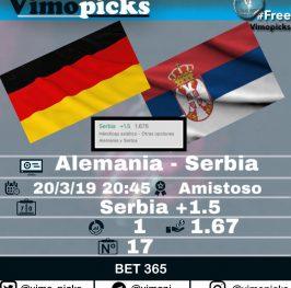 Alemania – Serbia