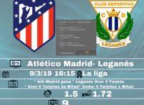 Ath Madrid - Leganés