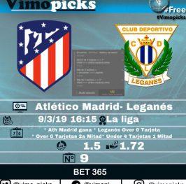 Ath Madrid – Leganés