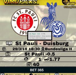 St Pauli – Duisburg