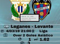 Leganés - Levante