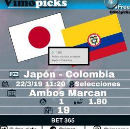 Japón – Colombia