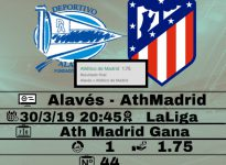 Alavés- Ath Madrid