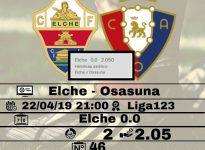 Elche - Osasuna