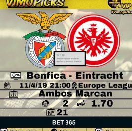 Benfica- Eintracht