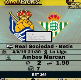 Real Sociedad – Betis