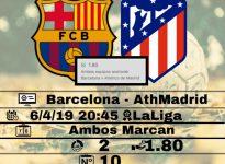 Barcelona- Ath Madrid