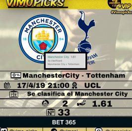 Manchester City – Tottenham