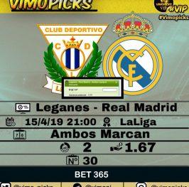 Leganes – Real Madrid
