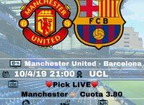 Live - Manchester United - Barcelona