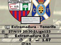 Extremadura - Tenerife