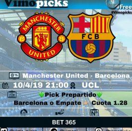 Pre – Manchester United – Barcelona