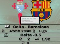 Celta - Barcelona