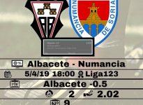 Albacete - Numancia