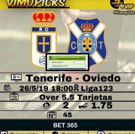Tenerife – Oviedo