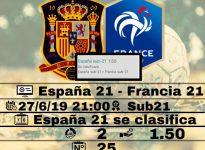 España 21 - Francia 21