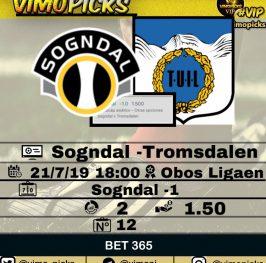 Sogndal -Tromsdalen