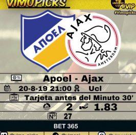 Apoel – Ajax
