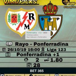 Rayo – Ponferradina