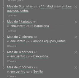 Barcelona – Sevilla