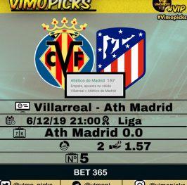 Villarreal – Atletico de Madrid