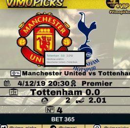 Manchester – Tottenham