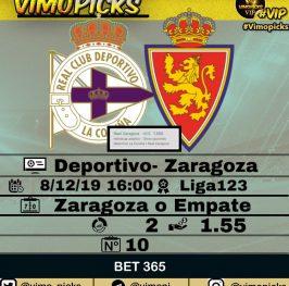 Deportivo- Zaragoza