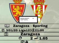 Zaragoza - Sporting